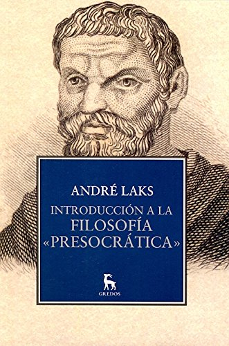 9788424917302: Introducción a la filosofía presocratica / Introduction to pre-Socratic philosophy (Spanish Edition)