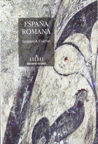9788424918262: España romana (VARIOS GREDOS)