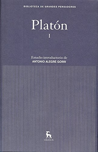 9788424919092: Platón I (B.GRANDES PENSADORES)