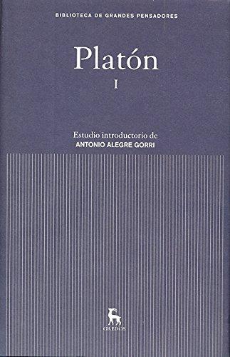 9788424919092: Platón I (GRANDES PENSADORES)