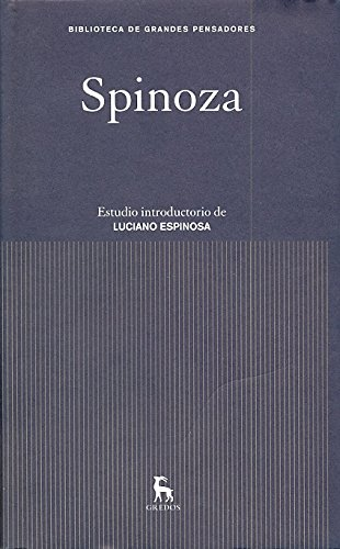 9788424919412: Spinoza (Spanish Edition)