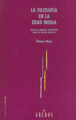 9788424920333: La Filosofia En La Edad Media (Spanish Edition)