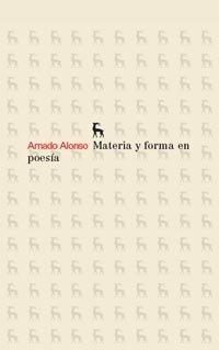 9788424921040: Materia y forma en poesía (VARIOS GREDOS)