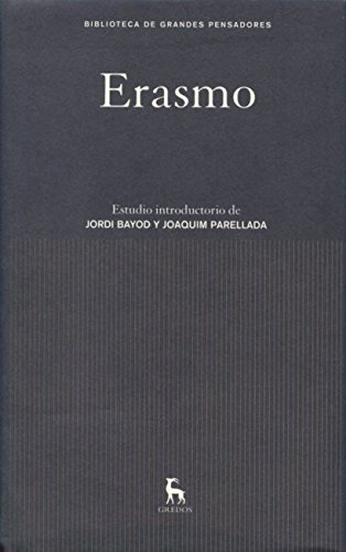 9788424921262: Erasmo (Spanish Edition)