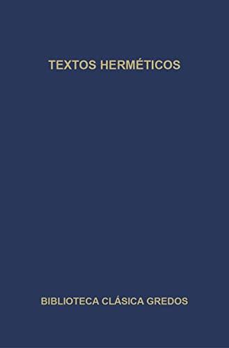 9788424922467: Textos Hermeticos - 268 (Spanish Edition)