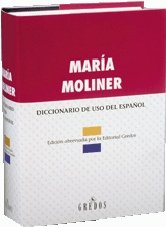 Diccionario de Uso del Espanol: Moliner, Maria
