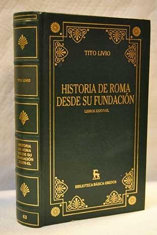 9788424925239: Historia de Roma desde su fundacion obra completa