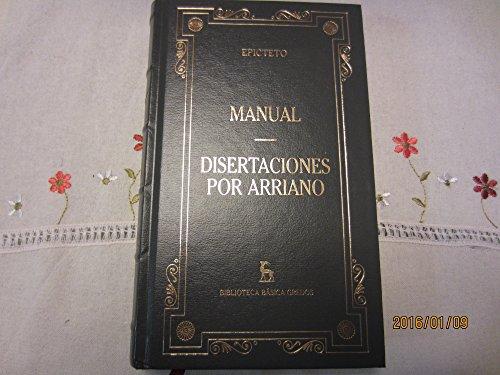 9788424925734: Manual Disertaciones por Arriano