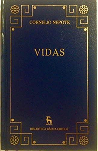 9788424925970: VIDAS (Biblioteca Básica Gredos - Madrid 2002). TAPA DURA