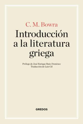 9788424926267: Introducción a la literatura griega (MANUALES)
