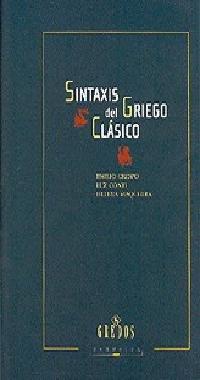 9788424926977: Sintaxis griego clasico (VARIOS GREDOS)