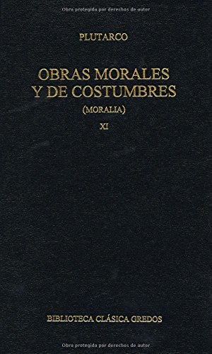 9788424927158: Obras morales y de costumbres / Morals and Custom Works (Spanish Edition)