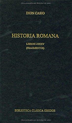 9788424927288: Historia romana libros i-xxxv (fragmento (B. CLÁSICA GREDOS)
