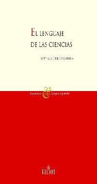 9788424927417: Lenguaje de las ciencias: 3 (VARIOS GREDOS)
