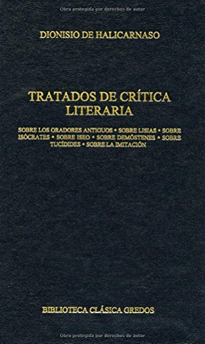9788424927592: Tratados de critica literaria / Treaties of Literary Criticism (Spanish Edition)