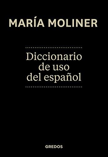 DICCIONARIO DEL USO DEL ESPAÑOL 4ED.