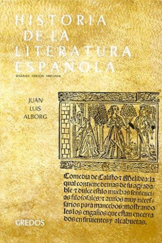 HISTORIA DE LA LITERATURA ESPAÑOLA. VOL. 1 - Alborg Escarti, Juan Luis