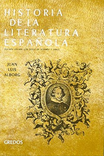 Historia de la literatura española. Tomo II,: Alborg, Juan LuiS: