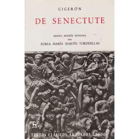9788424933975: de Senectute (Spanish Edition)