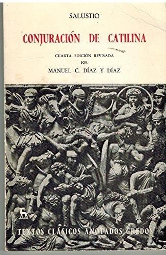 9788424934019: Conjuracion de Catilina (Spanish Edition)