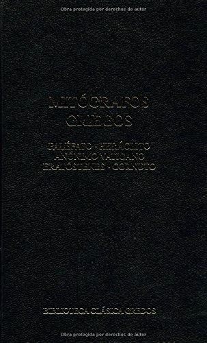 9788424935900: Mitografos Griegos / Greek mythographers (Spanish Edition)