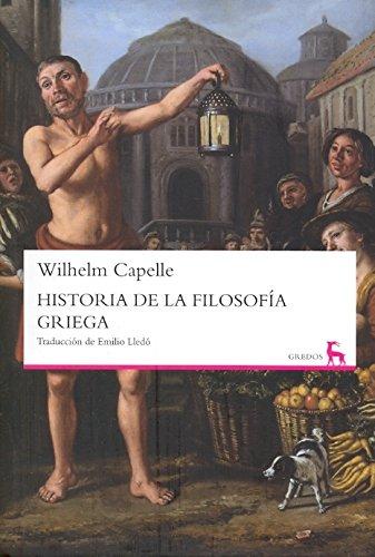 9788424936167: Historia de la filosofía griega / History of Greek Philosophy (Spanish Edition)