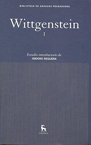 9788424936198: Wittgenstein I (Spanish Edition)