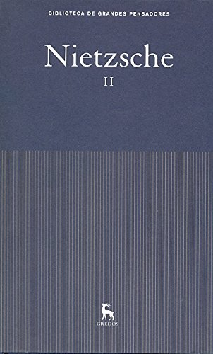 9788424936211: Obras Nietzsche II (GRANDES PENSADORES)