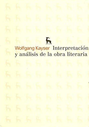 9788424936273: Interpretación y Análisis de la Obra Literaria / Interpretation and Analysis of Literary Work (Spanish Edition)