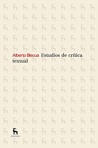 9788424936303: Estudios sobre critica textual (NUEVA BRH)