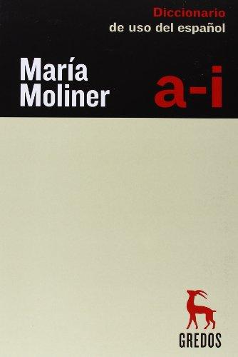 9788424936525: Diccionario Maria Moliner + Maleta Gredos/Dictionary Maria Moliner + Case