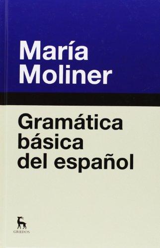 Gramatica basica del español.: Moliner, Maria