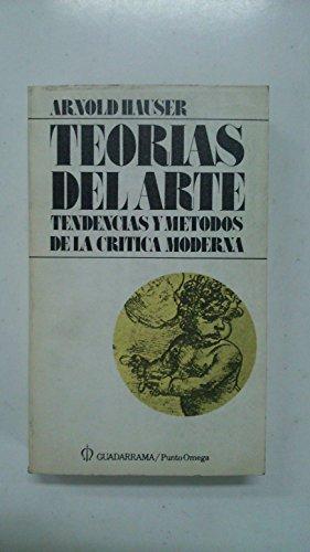 9788425000539: Teorias del arte: tendencias y metodos de la critica moderna