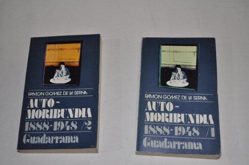 9788425029851: Auto-Moribundia. 1888-1948. DOS TOMOS.