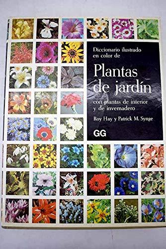 9788425203763: Diccionario ilustrado en color de plantas de jardin