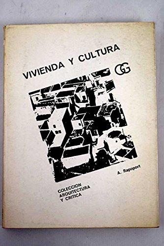 9788425204838: Vivienda y cultura