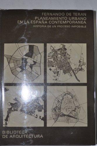 9788425207112: Planeamiento urbano en la España contemporánea (Biblioteca de arquitectura)
