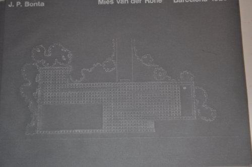 9788425208331: Anatomía de la interpretación en arquitectura: Reseña semiótica de la crítica del Pabellón de Barcelona de Mies van der Rohe = Anatomie de la ... of Mies van der Rohe's Barcelona Pavilion