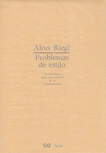 9788425209710: Problemas de estilo (GG arte)