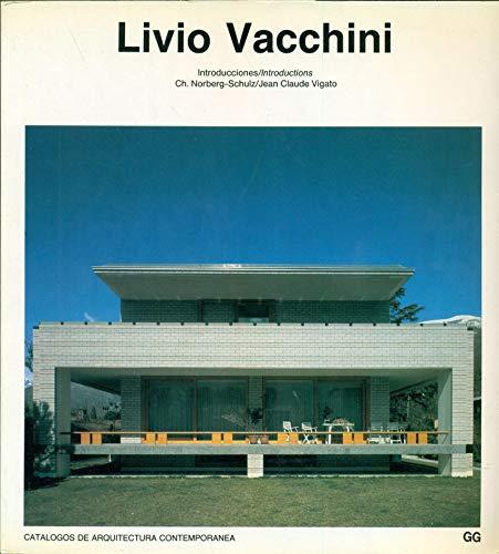 9788425213182: Livio Vacchini (Catálogos de arquitectura contemporánea = Current architecture catalogues)