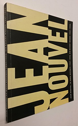 9788425214349: Jean Nouvel, la obra reciente, 1987-1990 =: His recent works, 1987-1990 (Quaderns monografies) (Spanish Edition)