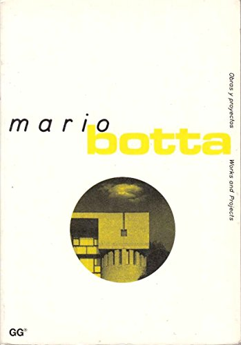 9788425214486: Mario botta (Works and Projects/Obras Y Proyectos)