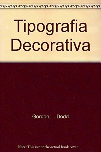 9788425216497: Tipografía decorativa (Manuales de diseño gráfico)