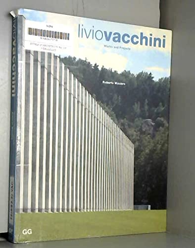 Livio Vacchini Works and Projects: Vacchini, Livio