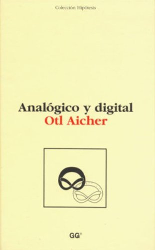 9788425218460: Analogico y Digital (Spanish Edition)