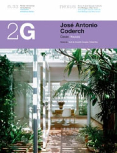 9788425219610: Jose Antonio Coderch: Houses (2G: International Architecture Review Series)