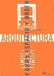 9788425220142: Arquitectura: Forma Espacio y Orden (Spanish Edition)
