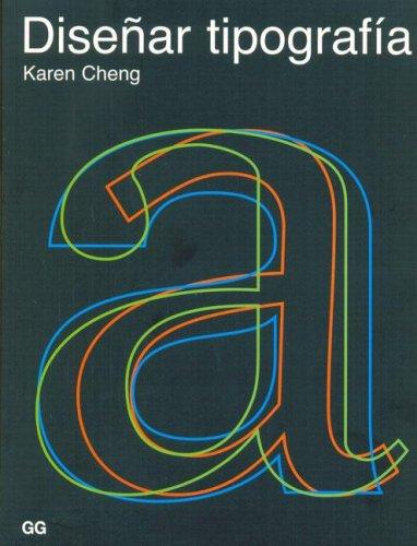 9788425220722: Diseñar tipografía