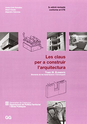9788425223181: CLAUS PER A CONSTRUIR-III-ELEMENTS