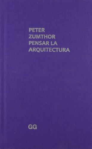 9788425223273: PENSAR LA ARQUITECTURA (Spanish Edition)